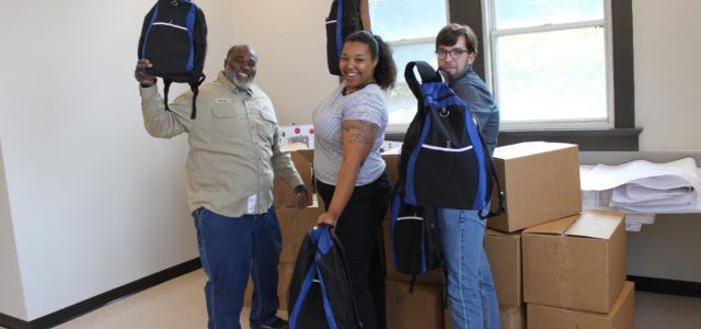 Broad River provides 3,000 book bags to local students