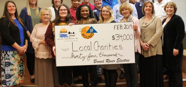 Broad River Electric donates $34,000 to local charities