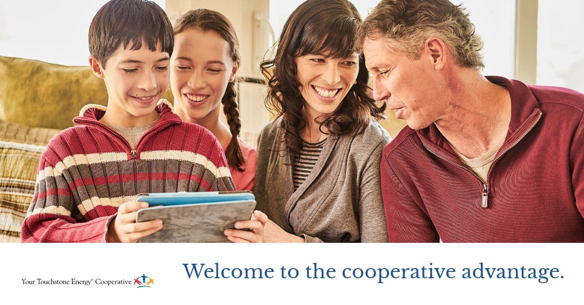 Welcome to the cooperative advantage.