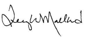 Terry Mallard signature
