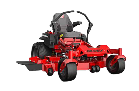 red, heavy duty commercial grade Zero-turn lawnmower