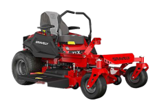Red Zero-Turn lawnmower for residential use
